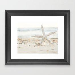 Hello Starfish Framed Art Print