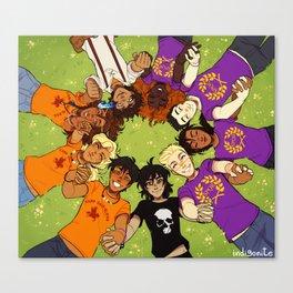 Olympus Heroes Canvas Print