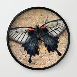 Beauty Butterfly by Teresa Thompson Wall Clock