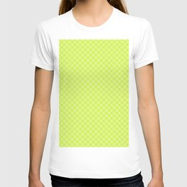 Diagonal plaid 2 T-shirt