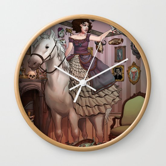 The Victorian Room Wall Clock