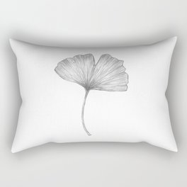 Ginkgo biloba I Rectangular Pillow