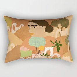 Freedom in Morocco Rectangular Pillow