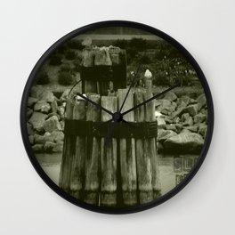 Sleep like a log Wall Clock