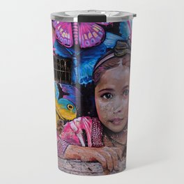 Child of Innocence - Graffiti Travel Mug
