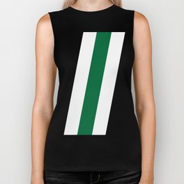 Green Stripe Black #style #minimal #design #kirovair #buyart #decor #home Biker Tank