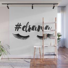 #Drama | Lashes Wall Mural