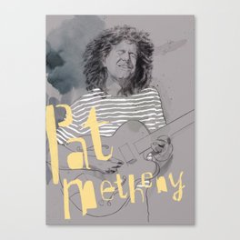 pat metheny Canvas Print