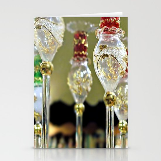 Pretty bottles for perfume Stationery Cards