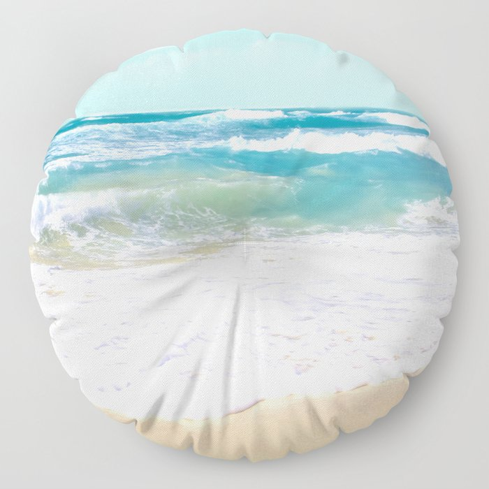 The Ocean Floor Pillow