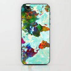 World Map - 1 iPhone & iPod Skin