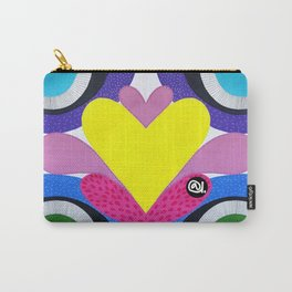 CRAZY COLORFUL Carry-All Pouch