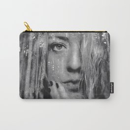 See Yourself - surreal dreamy portrait, woman nature photo, trees forest nature portrait Carry-All Pouch