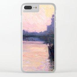 Henry Ossawa Tanner The Seine Clear iPhone Case