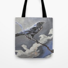 'The Raven   Harbinger' Tote Bag