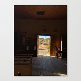 From The Pulpit - Terlingua, TX Canvas Print