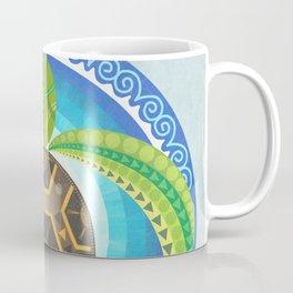 Geometric Turtle Coffee Mug