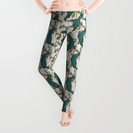 VELVET PEACOCK Leggings