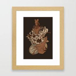 Witch's bouquet Framed Art Print