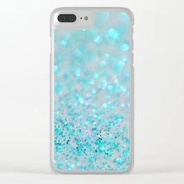 Sweetly Aqua Clear iPhone Case