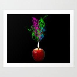Fruit of fire. Art Print