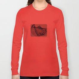 Shiny fish Long Sleeve T-shirt