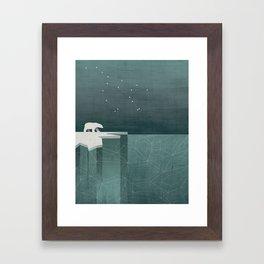 Ursa Major / Polar Bear Art Framed Art Print