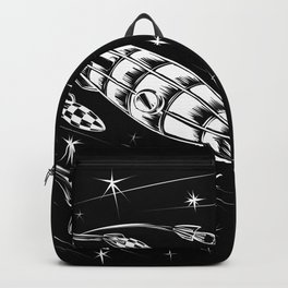 The Race into Space | Aliens, Rockets & Galaxies Backpack