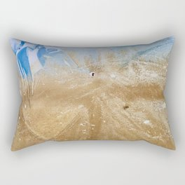 Take me to the beach, Leave me there alone Rectangular Pillow