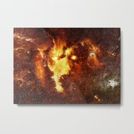 cosmic lion Metal Print