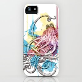 Octopus Ink iPhone Case