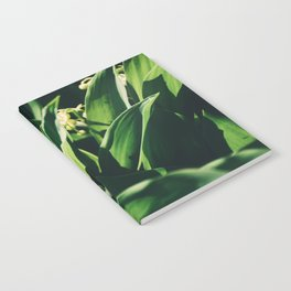Garden Leaf Notebook