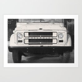 Old school bus - Americana Photography Art Print