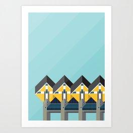 Cube Houses / Rotterdam Art Print