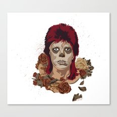 Ziggy de los Muertos Canvas Print