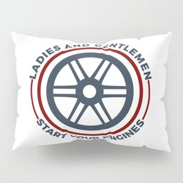 Racers Start Your Engines Racing Driving Competition Pillow Sham