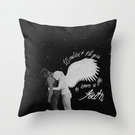 Daryl Dixon and Beth Green pt.II Throw Pillow