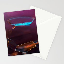 Abstract Panorama of Bubbles Stationery Cards
