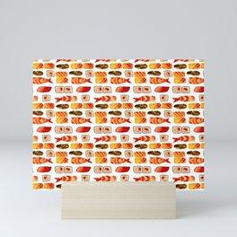 Sushi vibes Mini Art Print