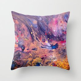 Spatial Symphony Throw Pillow
