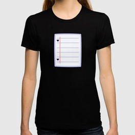 Cute paper T-shirt