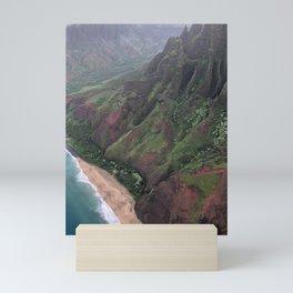 Soaring Over Kalalau Trail Kauai Mini Art Print