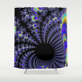Fascinating Fractal Shower Curtain
