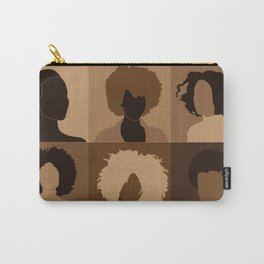 FOR BROWN GIRLS COLLECTION COLLAGE Carry-All Pouch