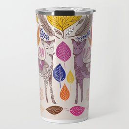 Fall in Love with Fawns Travel Mug