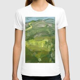 Landscape 1 Mountains Farm T-shirt