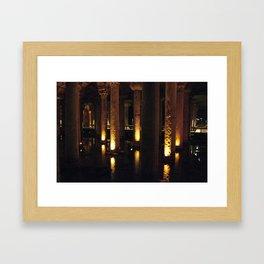 Light Underground!  Framed Art Print