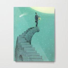 Moon Steps Metal Print