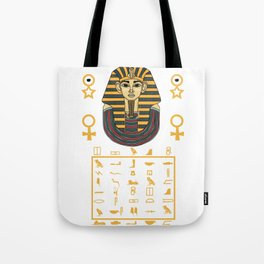 Pharaoh Egypt Pyramids Sphinx sign gift Tote Bag