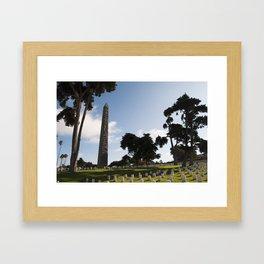 Domos Haidou Framed Art Print